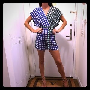 NWT! DVF Romper! Beautiful colors! Never worn!